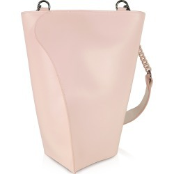 Giaquinto Designer Handbags, Pink Layla Leather Shoulder Bag found on MODAPINS from Forzieri for USD $359.50