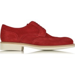 A.Testoni Shoes, Garofano Suede Derby Shoe