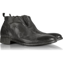 Forzieri Designer Shoes, Ebony Washed Leather Boots found on Bargain Bro Philippines from Forzieri for $354.00