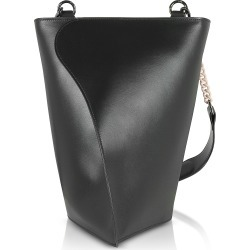 Giaquinto Designer Handbags, Black Layla Leather Shoulder Bag found on MODAPINS from FORZIERI  AU for USD $395.76