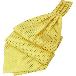 Forzieri Designer Ascot ties, Mini Polkadot Yellow Silk Ascot found on Bargain Bro UK from FORZIERI.COM (UK)