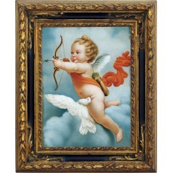 Bianchi Arte Designer Paintings, Oil on Canvas Cherub Painting found on Bargain Bro Philippines from FORZIERI  AU for $1957.88