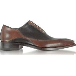 Forzieri Designer Shoes, Dark Brown Italian Handcrafted Leather Oxford Shoes found on Bargain Bro Philippines from Forzieri for $568.00