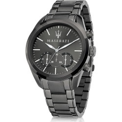 Maserati Designer Men's Watches, Pole Position Gunmetal PVD Stainless Steel Men's Watch found on Bargain Bro Philippines from Forzieri for $465.00