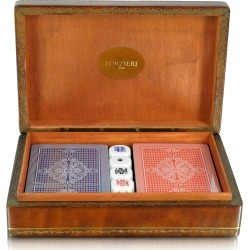 Forzieri Designer Small Leather Goods, Genuine Leather Game Box found on Bargain Bro Philippines from Forzieri for $268.00