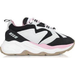 MSGM Designer Shoes, Black & Pink Attack Sneakers found on Bargain Bro UK from FORZIERI.COM (UK)