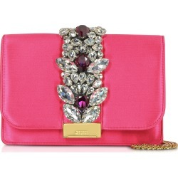Gedebe Designer Handbags, Satin Cliky Clutch found on MODAPINS from Forzieri for USD $430.00