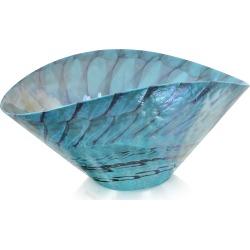 Yalos Murano Designer Murano Accents, Belus - Turquoise Murano Glass Centerpiece found on Bargain Bro Philippines from Forzieri for $250.00