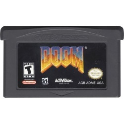 Doom Nintendo Game Boy Activision Available At GameStop Now!