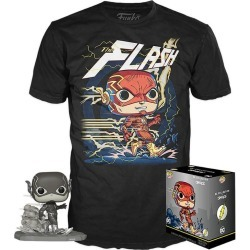 POP! and Tee: The Flash by Jim Lee T-Shirt found on Bargain Bro India from Game Stop US for $29.99
