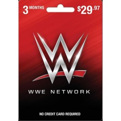 WWE Network 3 Month Card PC InComm Available At GameStop Now!