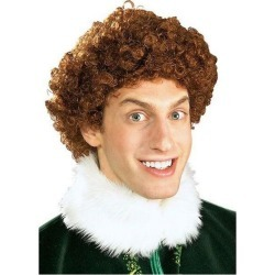 Elf Buddy the Elf Costume Wig, One Size Rubie's Costume Company GameStop found on Bargain Bro Philippines from Game Stop US for $10.49