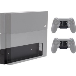 PlayStation 4 Console and 2 Controller Pro Wall Mount Bundle PS4 HIDEit Mounts Available At GameStop Now!