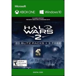 Halo Wars 2 20 Blitz Packs and 3 Free