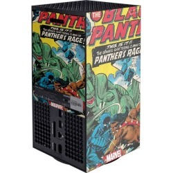 Black Panther Jungle Action Console Skin for Xbox Series X Xbox Series X Accessories Microsoft GameStop