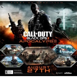 Digital Call of Duty: Black Ops II Apocalypse Map Pack Xbox 360 Games Activision GameStop found on Bargain Bro India from Game Stop US for $15.00