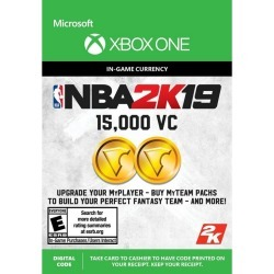 Digital NBA 2K19 15,000 Virtual Currency Xbox One Download Now At GameStop.com! found on GamingScroll.com from Game Stop US for $4.99