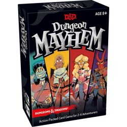 Dungeons and Dragons Mayhem Card Game Excell Marketing GameStop