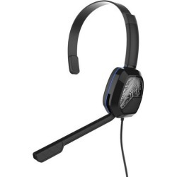 Xbox One Afterglow LVL 1 Black Wired Chat Gaming Headset PDP Available At GameStop Now!