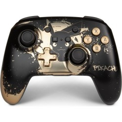 Pokemon Pikachu Black Gold Enhanced Wireless Controller for Nintendo Switch Nintendo Switch Accessories Nintendo GameStop found on Bargain Bro Philippines from Game Stop US for $49.99