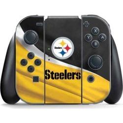 NFL Pittsburgh Steelers Controller Skin for Nintendo Switch Joy-Cons Nintendo Switch Accessories Nintendo GameStop