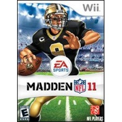 Madden NFL 11 Pre-owned Nintendo Wii Games Electronic Arts GameStop found on Bargain Bro India from Game Stop US for $2.99