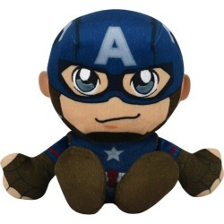 Captain America Kuricha Plush found on GamingScroll.com from Game Stop US for $14.99