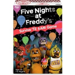 Five Nights at Freddy's: Survive 'Til 6AM Board Game found on GamingScroll.com from Game Stop US for $16.99