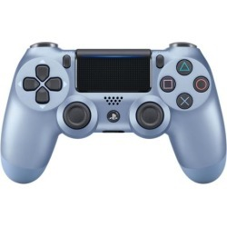 Sony DUALSHOCK 4 Titanium Blue Wireless Controller PS4 Sony Computer Entertainment America Available At GameStop Now!
