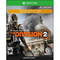 Tom Clancy's The Division 2 Steelbook Gold Edition Xbox One Ubisoft Available At GameStop Now!