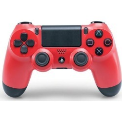 Sony DualShock 4 Wireless Controller - Magma Red PS4 Sony Computer Entertainment America Available At GameStop Now!