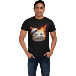 Ghostbusters Flaming Stay Puft T-Shirt found on Bargain Bro from Game Stop US for USD $6.06
