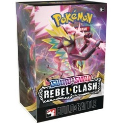 Trading Card Game: Sword and Shield Rebel Clash Build and Battle Box Pokemon Company International Available At GameStop Now!