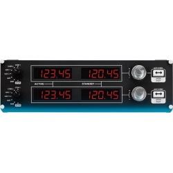 Flight Radio Panel Professional Simulation Black Radio Controller PC Logitech Available At GameStop Now!