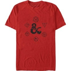 Dungeons and Dragons Ampersand and Dice T-Shirt Fifth Sun GameStop