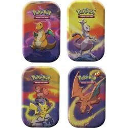 Pokemon Company International Trading Card Game: Kanto Power Tin (Assortment) Available At GameStop Now!
