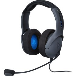 PlayStation 4 LVL50 Wired Stereo Gaming Headset PS4 PDP Available At GameStop Now!