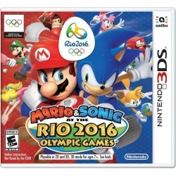 Mario and Sonic at the Rio 2016 Olympic Games found on GamingScroll.com from Game Stop US for $19.99