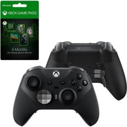 Microsoft Xbox Elite Black Series 2.0 Wireless Controller and 6-month Game Pass Bundle Xbox One Accessories Microsoft GameStop found on Bargain Bro Philippines from Game Stop US for $239.99
