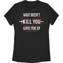Dungeons and Dragons What Doesn't Kill You Ladies T-Shirt Fifth Sun GameStop
