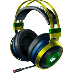 Razer Nari Ultimate Overwatch Lucio Edition Wireless Gaming Headset PC Pre-Order At GameStop Now!