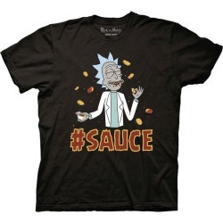 Ripple Junction Design Rick and Morty #Sauce T-Shirt Available At GameStop Now!