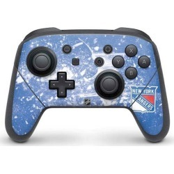 NHL New York Rangers Controller Skin for Nintendo Switch Pro Nintendo Switch Accessories Nintendo GameStop found on GamingScroll.com from Game Stop US for $11.99