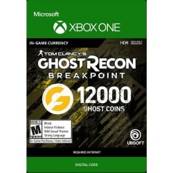 Tom Clancy's Ghost Recon Breakpoint 12000 Ghost Coins Digital Card Xbox One Download Now At GameStop.com!