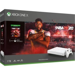 Microsoft Xbox One X NBA 2K20 Special Edition 1TB Bundle Only at GameStop Available At GameStop Now! found on Bargain Bro Philippines from Game Stop US for $349.99