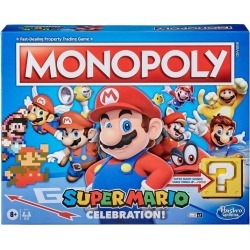 Monopoly: Super Mario Bros. Celebration! Edition Board Game found on GamingScroll.com from Game Stop US for $29.99