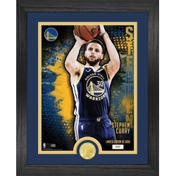 NBA San Francisco Golden State Warriors Stephen Curry Dominator Bronze Coin Mint Photograph Highland Mint GameStop found on Bargain Bro from Game Stop US for USD $53.19