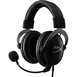 Kingston HyperX Cloud II Pro Gaming Gun Metal Wired Headset PS4 Available At GameStop Now!