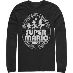 Super Mario Breaking Bricks Since 1985 Long Sleeve T-Shirt