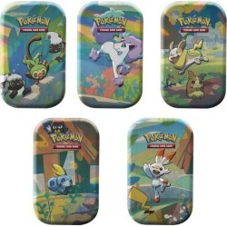 Trading Card Game: Galar Pals Mini Tins (Assortment) The Pokemon Company International Pre-Order At GameStop Now!